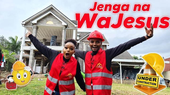 OUR DREAM HOUSE LOADING   JENGA NA WAJESUS WATCH&WIN 100K - YouTube