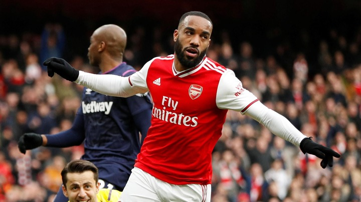 Lacazette boosts Arsenal's hopes of top four