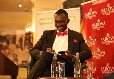 Citizen TV anchor Trevor Ombija on February 14, 2020