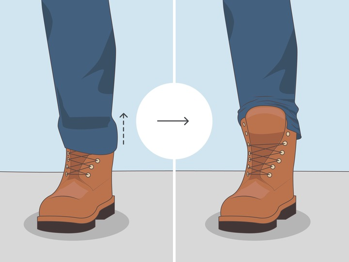 3 Simple Ways to Wear Men's Boots with Jeans - wikiHow