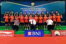 Daftar 12 Atlet Bulu Tangkis Indonesia di Thomas Cup 2020