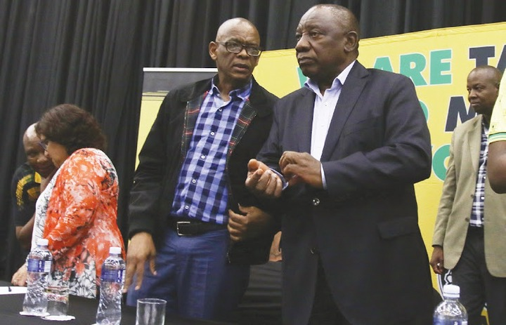 Suspended ANC secretary-general Ace <a class=