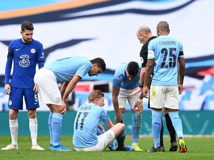 Chelsea 1-0 Man City FA Cup semi-final highlights and reaction as Ziyech  scores winner after De Bruyne injured - Manchester Evening News