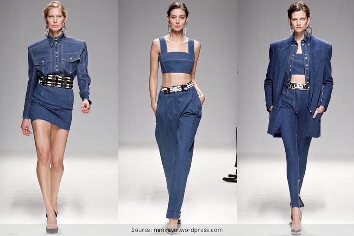 How To Wear Denim On Denim - A Cool Style