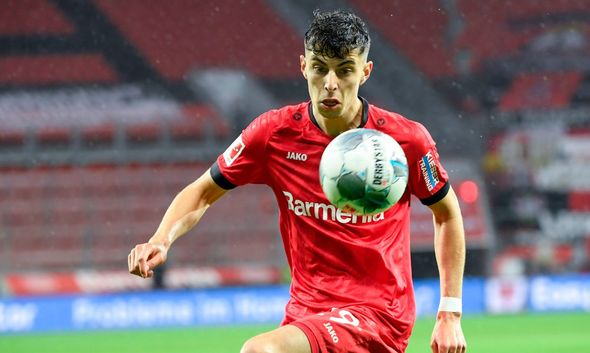 Kai Havertz is set to seal a £90m switch to Chelsea