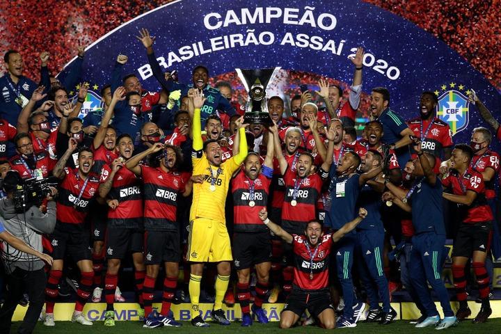 Brazilian Championship: Flamengo defend their league title