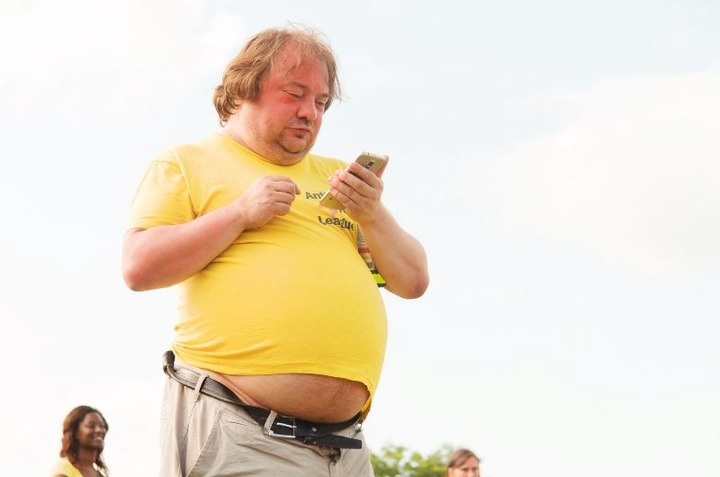 Beer Belly Myth - You're fat stupid   Belly fat   We R Stupid