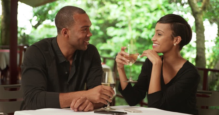 A Black Couple Drink While Stock Footage Video (100% Royalty-free) 22206562  | Shutterstock