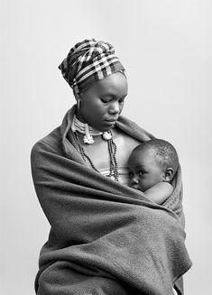 Photographer Andrew Putter   Black & white tribal photographic series – Safari Fusion