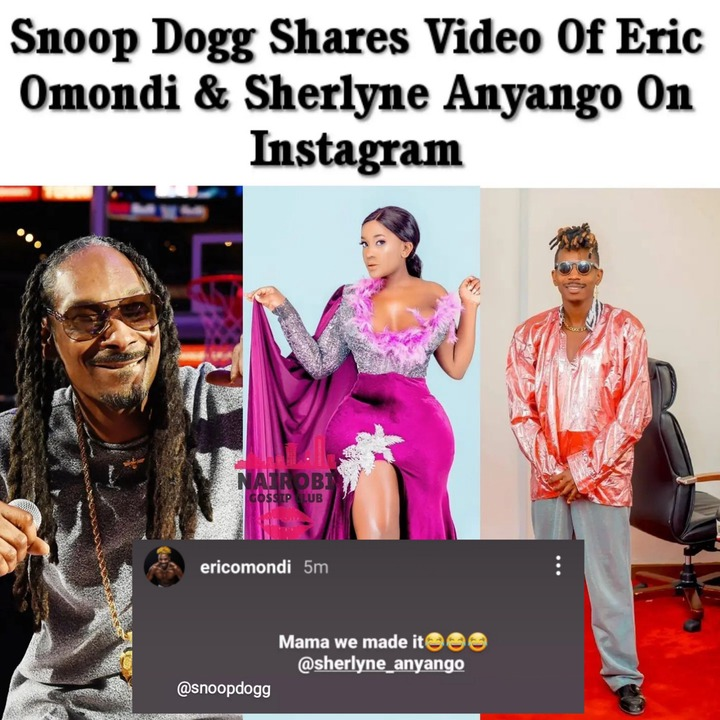 May be an image of 3 people and text that says 'Snoop Dogg Shares Video Of <a class=