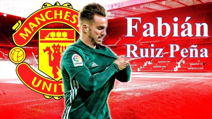 Fabián Ruiz Peña 2018 ○ Welcome To Manchester United? ○ Goals, Skills,  Assists 2017/18 - YouTube