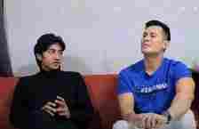 tangkap layar Youtube Afdhal Yusman Harris Vriza berbincang dengan Afdhal Yusman tentang persahabatannya dengan Rizky Billar.