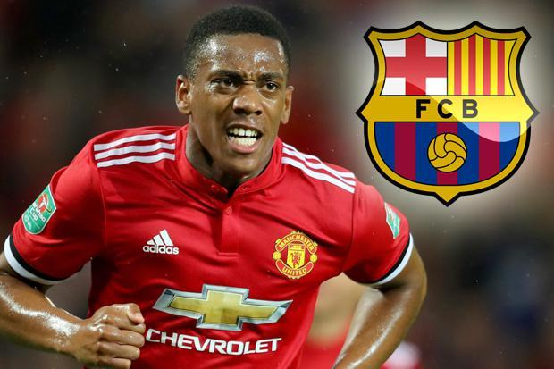 Barcelona ready to challenge Arsenal for Anthony Martial if Man United man  tires of life on the bench