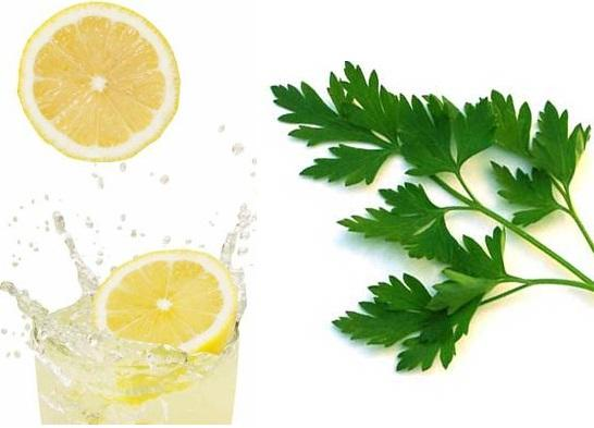 Home remedies for blemishes on the face - Step 1