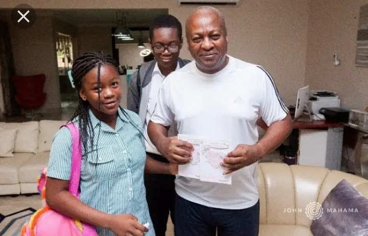 Pictures of Mahama's only daughter showcasing her beauty. 5