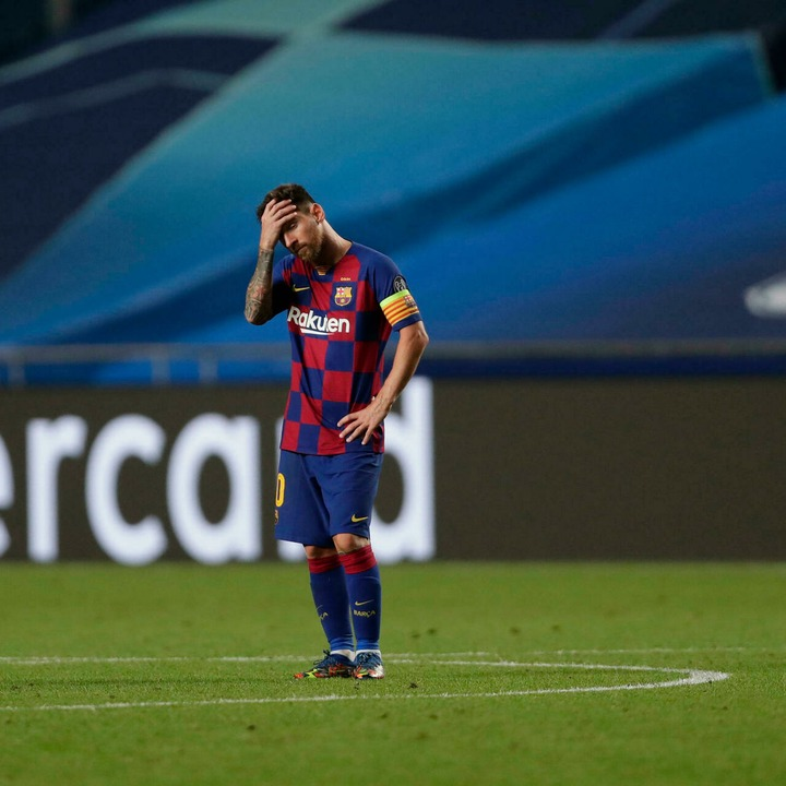 Football superstar Messi tells Barcelona he wants to leave the club