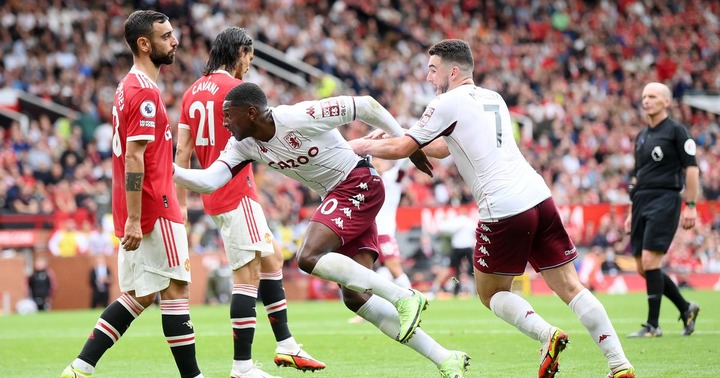 Manchester United 0-1 Aston Villa highlights and reaction as Bruno  Fernandes misses penalty after Hause goal - Manchester Evening News