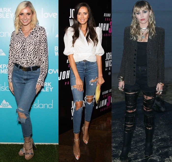 5 Ways To Wear Ripped Jeans To Work: Best Outfits With Destroyed Pants
