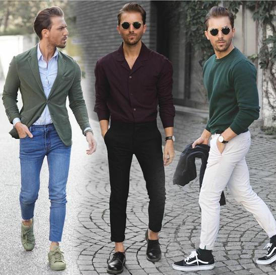 green shoes mens fashion